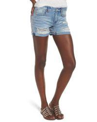 Vigoss - Blue Marley Denim Shorts - Lyst