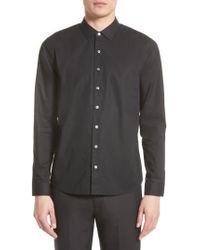 ATM - Black Cotton Dress Shirt for Men - Lyst