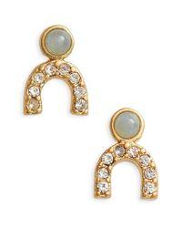 Madewell | Metallic Tiny Jewels Stud Earrings | Lyst