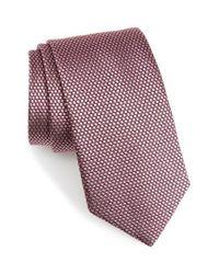 Nordstrom - Pink Solid Silk Tie for Men - Lyst