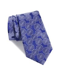 Nordstrom Blue Carnaby Silk Tie for men