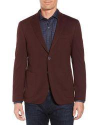 Bugatchi | Purple Regular Fit Blazer for Men | Lyst