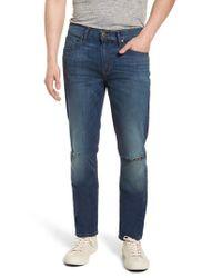 PAIGE Blue Lennox Slim Fit Jeans for men