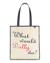 Draper James Multicolor Dolly Vanderbilt Tote -