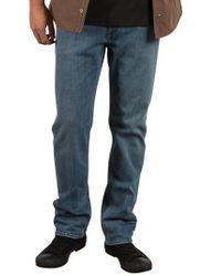 Volcom - Blue Solver Denim Pants for Men - Lyst