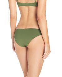 L*Space Green Sandy Classic Bikini Bottoms