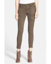 Joie | Natural 'Park' Skinny Pants | Lyst