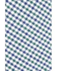 1901 Green Plaid Cotton Tie for men