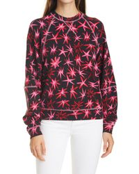 Tanya Taylor Red Emily Pullover