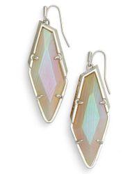 Kendra Scott - Multicolor Drop Earrings - Lyst