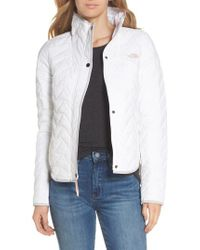 The North Face - White Westborough Insulated Jacket - Lyst