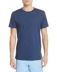 Norse Projects - Blue Niels Indigo T-shirt for Men - Lyst