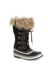 Sorel Black Boots