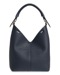 Anya Hindmarch Blue Small Build A Bag Leather Base Bag