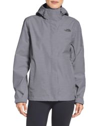The North Face - Gray Venture 2 Waterproof Jacket - Lyst