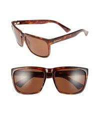Electric - Brown 'knoxville Xl' 61mm Sunglasses - Lyst