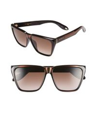 Givenchy - Black '7002/s' 58mm Sunglasses - Lyst