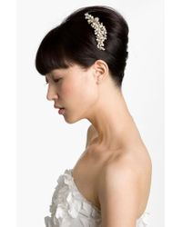Cara Metallic 'vintage' Hair Comb