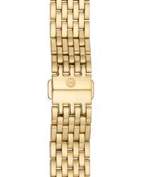 Michele Metallic 'serein' 18mm Watch Bracelet Band