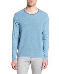 Zachary Prell Blue Lakeside Sweater for men