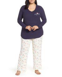 Make + Model Multicolor Knit Pajamas