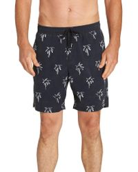 Billabong - Black Sundays Layback Board Shorts for Men - Lyst