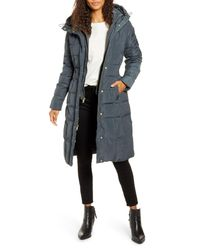 Cole Haan Multicolor Cole Haan Bib Insert Down & Feather Fill Coat