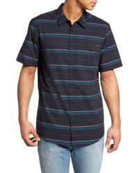 O'neill Sportswear Blue Striped Woven Shirt for men