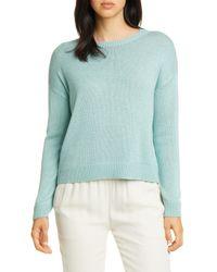 Eileen Fisher Blue Sweater