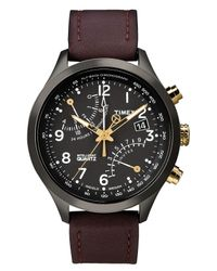 Timex Brown Mens Chronograph Intelligent Quartz Indigloãâ Watch for men