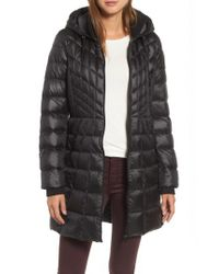 Bernardo - Black Down & Primaloft Coat - Lyst