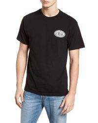 O'neill Sportswear - Black Gasser Graphic T-shirt for Men - Lyst