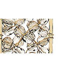 Panacea Metallic Layered Pendant Necklace