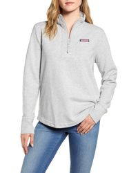 Vineyard Vines Gray Relaxed Shep Shirt Pullover