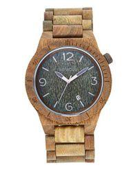 WeWood | Multicolor Alpha Wood Bracelet Watch | Lyst
