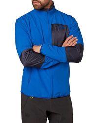 Helly Hansen Blue Wynn Rask Soft Shell Jacket for men