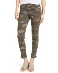 Wit & Wisdom - Green Ab-solution Camo Ankle Skimmer Pants - Lyst