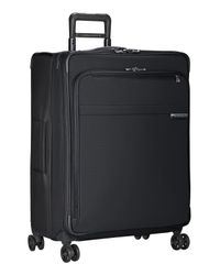 Briggs & Riley Green 'baseline' Large Expandable Rolling Packing Case