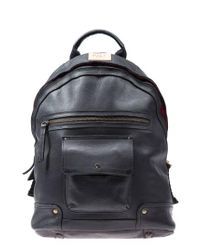 Will Leather Goods Black 'silas' Backpack for men