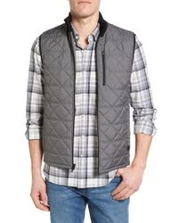 Victorinox | Gray Victorinox Swiss Army Quilted Vest for Men | Lyst