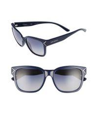 Tory Burch | Blue 55mm Gradient Sunglasses - Navy | Lyst