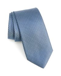 Nordstrom Blue Soda Geometric Silk Tie for men