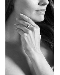 Lagos Metallic 'derby' Large Diamond Ring