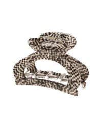 France Luxe Metallic Cutout Jaw Clip