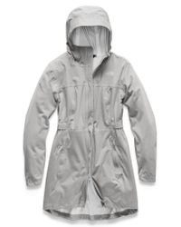 The North Face Gray Allproof Stretch Parka