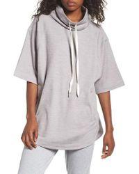 Zella - Gray Get It Girl Pullover - Lyst