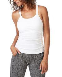Sweaty Betty White Namaska Yoga Camisole