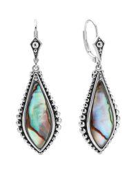 Lagos - Blue 'contessa' Semiprecious Stone Drop Earrings - Lyst