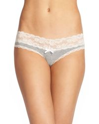 Honeydew Intimates Gray Ahna Thong