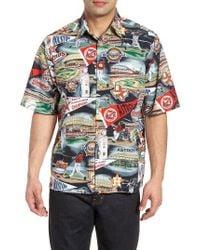 Reyn Spooner Multicolor Houston Astros Classic Fit Camp Shirt for men